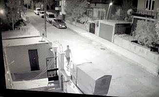 Hırsızlık zanlısı kameralara yakalandı