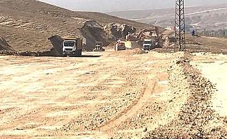 Ortaköy yolu Ankara yoluna bağlanıyor
