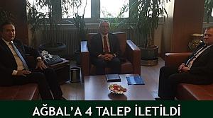 4 talep Ağbal'da