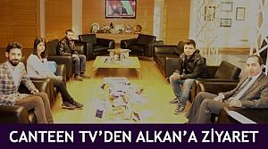 Canteen TV'den Alkan'a ziyaret