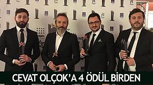 Cevat Olçok'a 4 ödül birden
