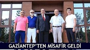 Gaziantep'ten misafir geldi