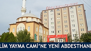 İlim Yayma Camii'ne yeni abdesthane