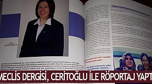 Meclis Dergisi, Ceritoğlu ile röportaj yaptı