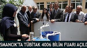 Osmancık'ta Tübitak 4006 Bilim Fuarı Açıldı