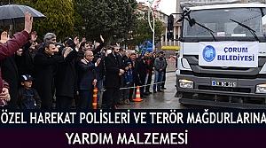 Özel Harekat Polisleri Ve terör mağdurlarına yardım