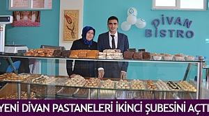 Yeni Divan Pastaneleri ikinci şubesini açtı