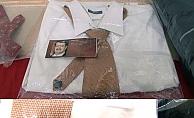 26 yıllık sırrı taşıyan gömlek bu sergide