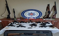 Çorum ve Tokat'ta büyük silah operasyonu