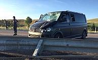Çorum yolunda 2 kaza, 11 yaralı