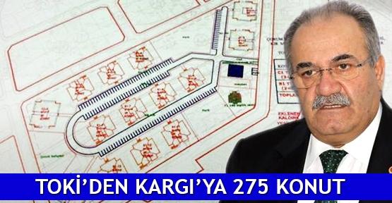 TOKİ'den Kargı'ya 275 konut