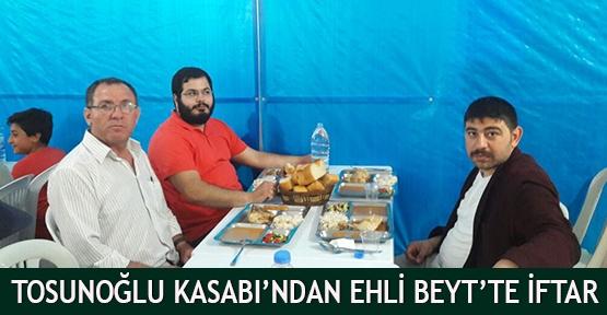 Tosunoğlu  Kasabı'ndan Ehli Beyt'te iftar
