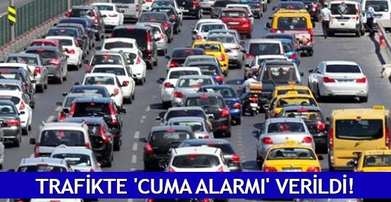 Trafikte 'Cuma alarmı' verildi!