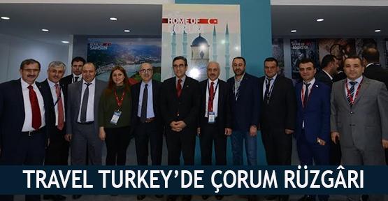 Travel Turkey'de Çorum rüzgârı