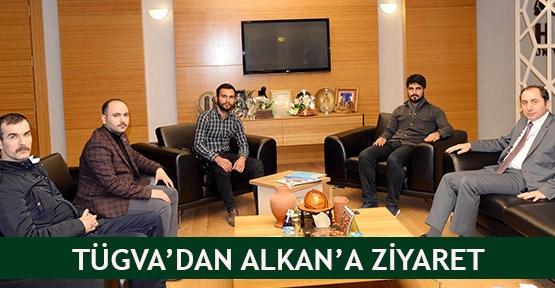 TÜGVA'dan Alkan'a ziyaret