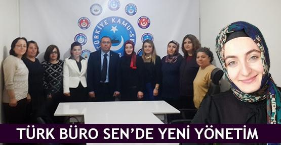 Türk Büro Sen'de yeni yönetim
