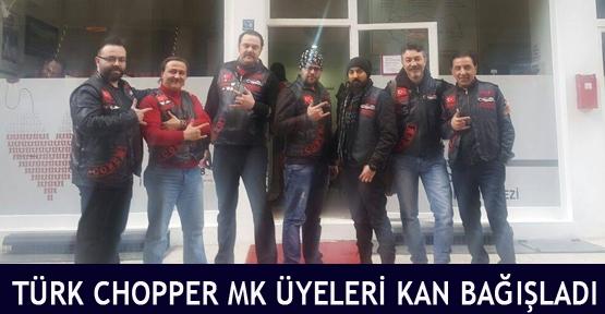Türk Chopper MK üyeleri kan bağışladı