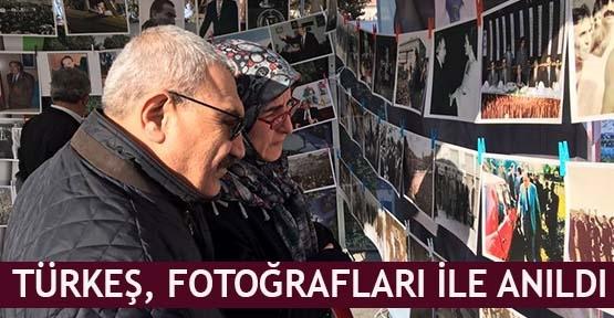 Türkeş, fotoğrafları ile anıldı