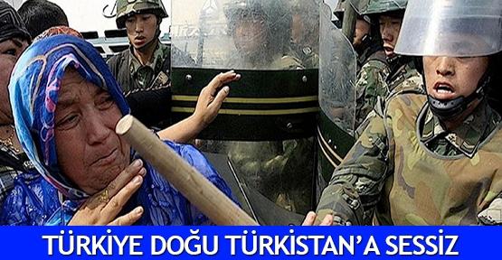 Türkiye Doğu Türkistan'a sessiz