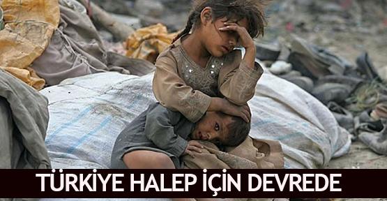 Türkiye Halep için devrede