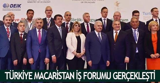 Türkiye Macaristan iş forumu gerçekleşti