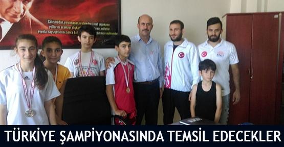 Türkiye Şampiyonasında temsil edecekler