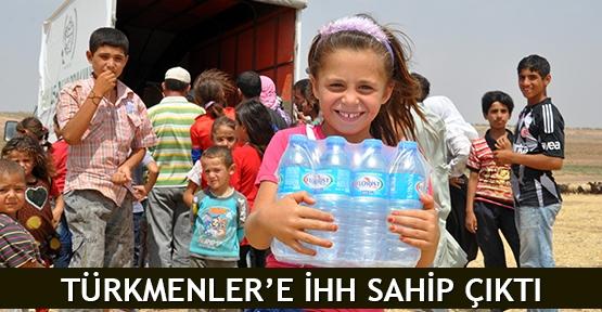 Türkmenler'e İHH sahip çıktı