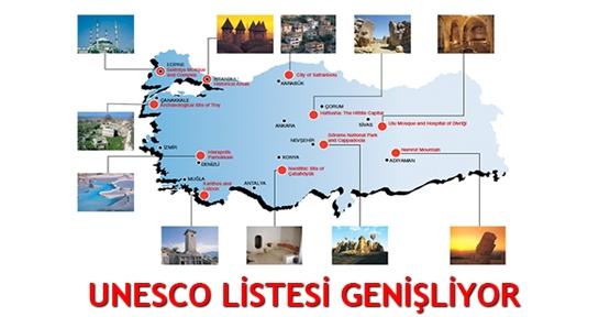 Unesco Listesi Genişliyor