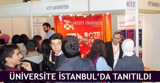 Üniversite İstanbul'da tanıtıldı