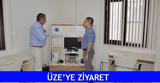 ÜZE'ye ziyaret