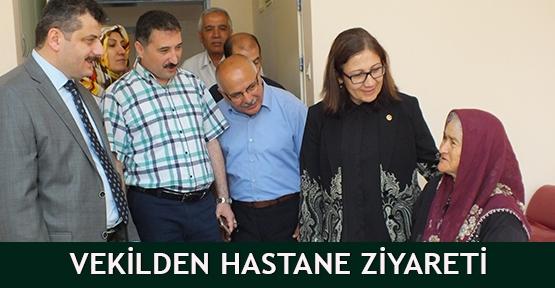 Vekilden Hastane Ziyareti