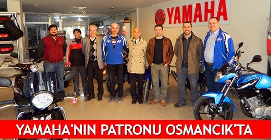 Yamaha'nın patronu Osmancık'ta