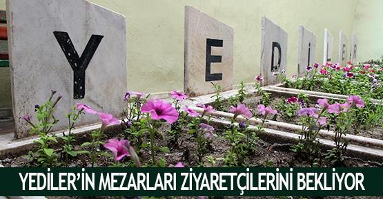 Yediler'in mezarları ziyaretçilerini bekliyor