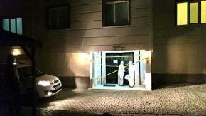 Çorum#039;da 6 katlı 24 dairelik apartman karantinada
