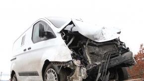 Çorum'da para nakil aracı kaza yaptı: 1 ölü, 3 yaralı