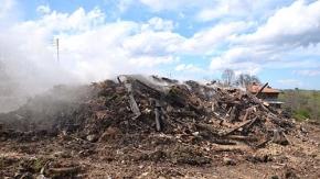 Yangınzede köyde son durum