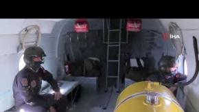 96 araç havadan denetlendi