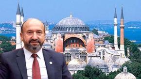 Kavuncu'dan TBMM'de Ayasofya konuşması