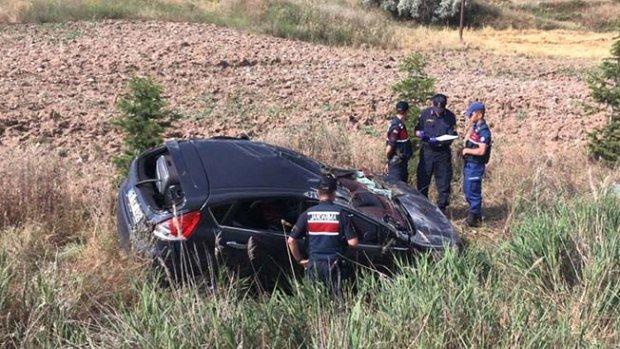 Araç takla attı: 2'si ağır, 6 yaralı