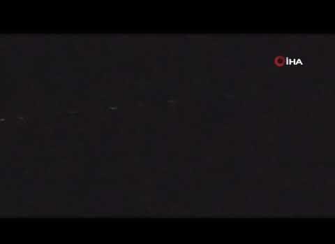 Starlink uyduları Çorum semalarında