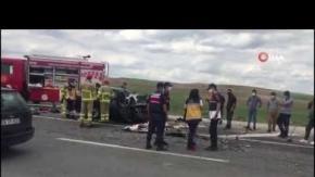 Feci kazada 1 kişi öldü, 2 yaralı