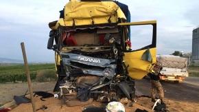 Amasya yolunda kaza