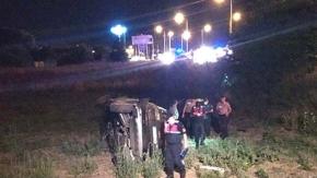 Altın yüklü zırhlı araç kaza yaptı