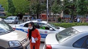 Geç kaldı, polis de yetiştiremedi