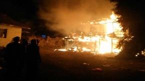 Sungurlu'da yaşlı çift yanarak can verdi