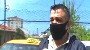Çorumlu taksici davranışıyla haber oldu