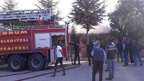 KSS'de yangın